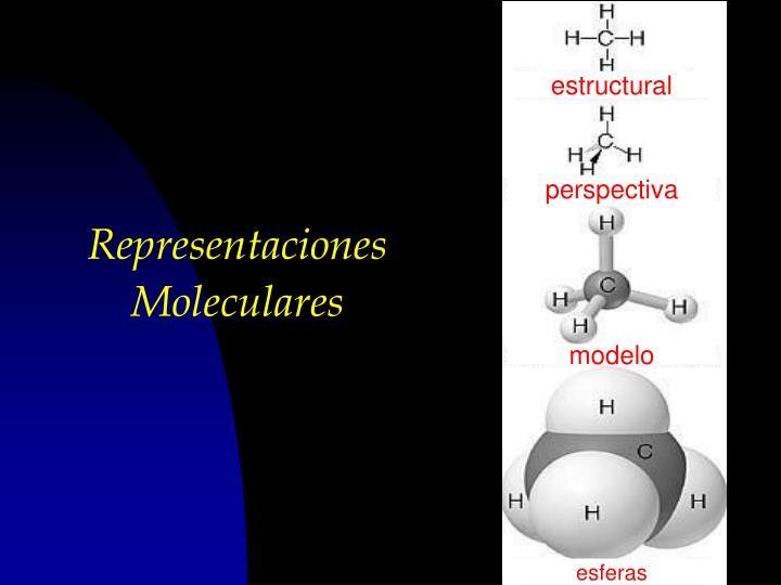 Representaciones Moleculares