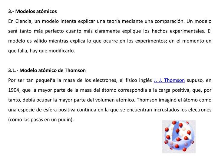 3.- Modelos atmicos