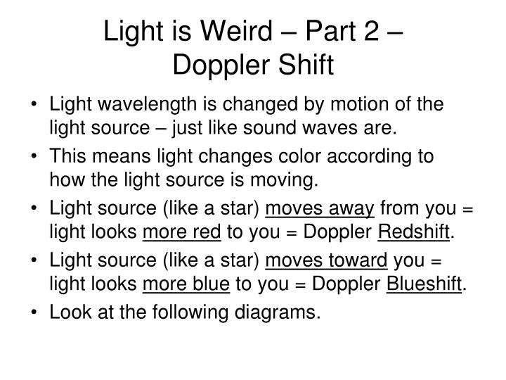 Light is Weird – Part 2 –