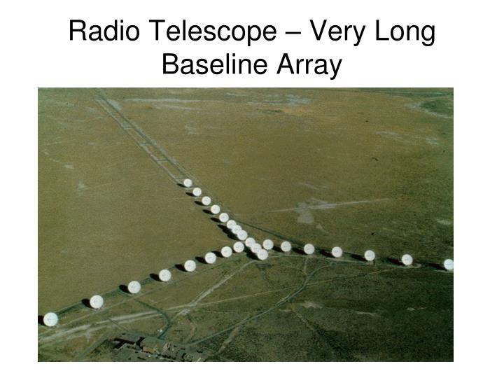 Radio Telescope – Very Long