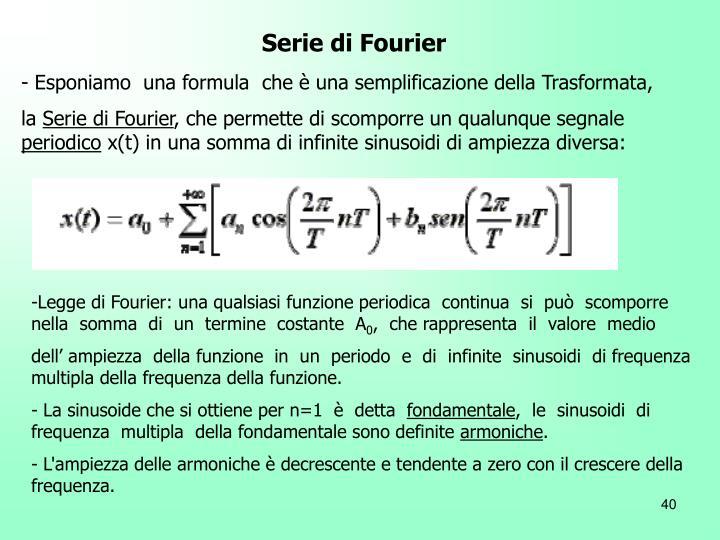 Serie di Fourier
