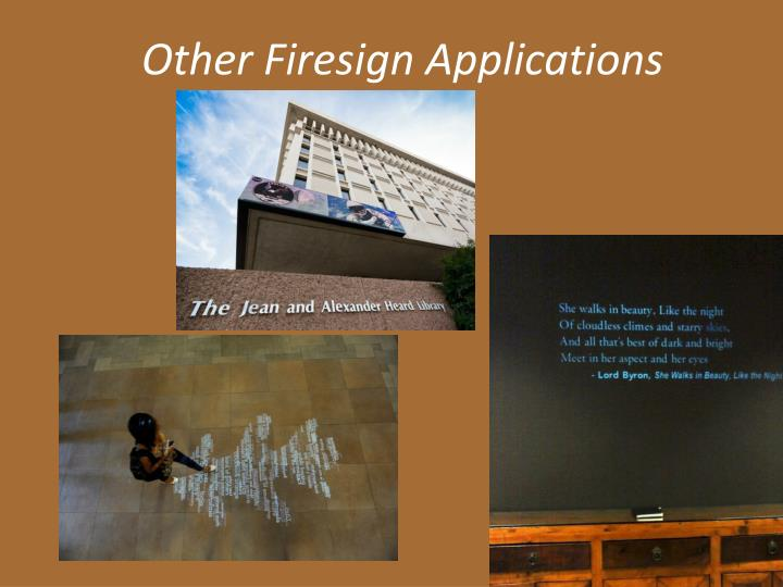 Other Firesign Applications