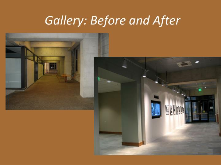 Gallery: Before and After