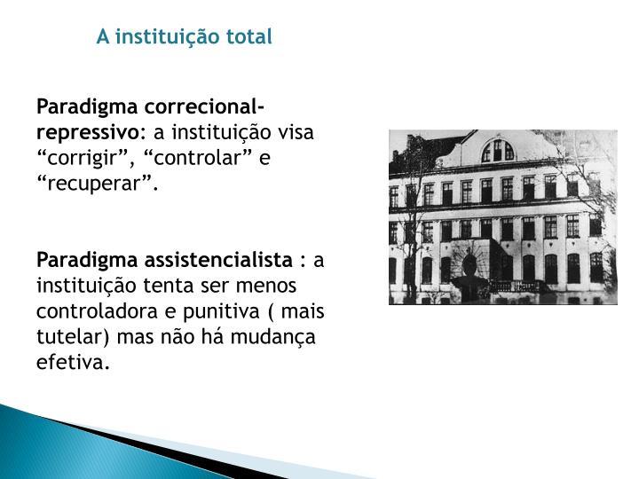A instituição total