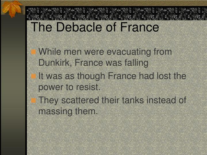 The Debacle of France