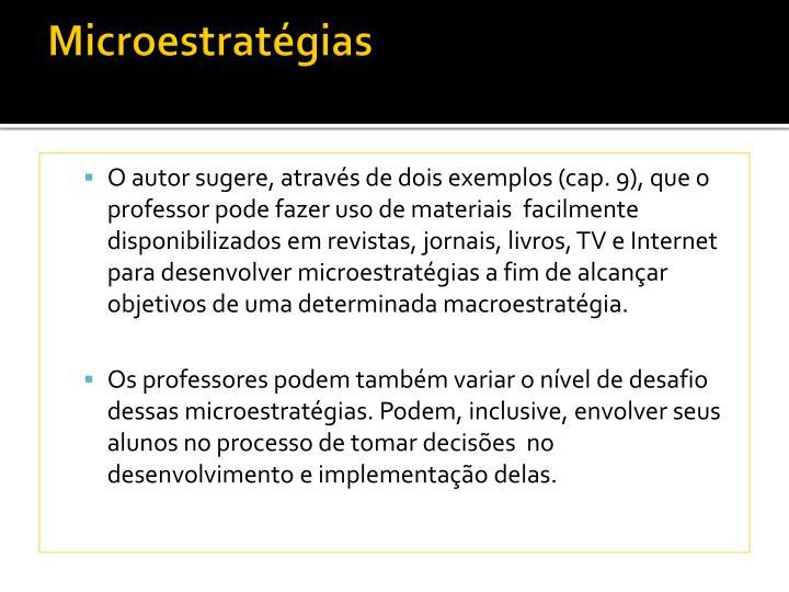 Microestratégias