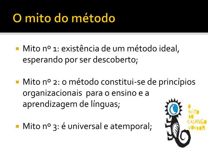 O mito do método