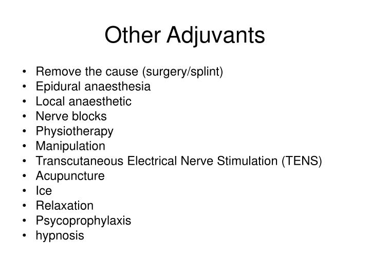 Other Adjuvants