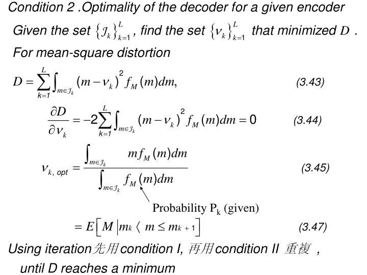 Probability P