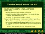 president reagan and the cold war