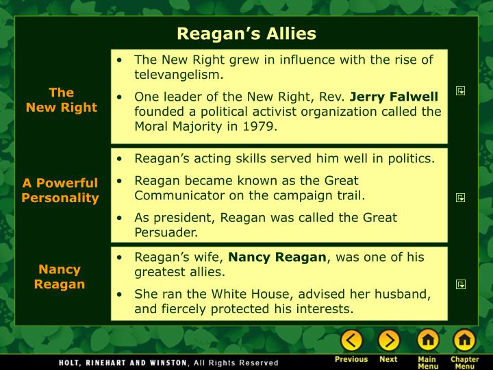 Reagan's Allies