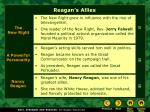 reagan s allies