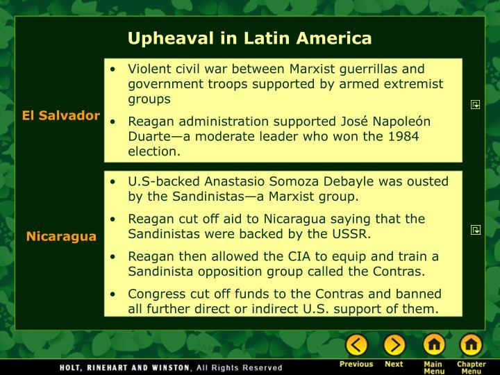 Upheaval in Latin America