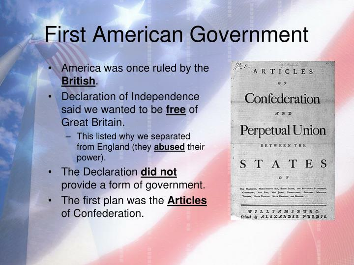 First American Government