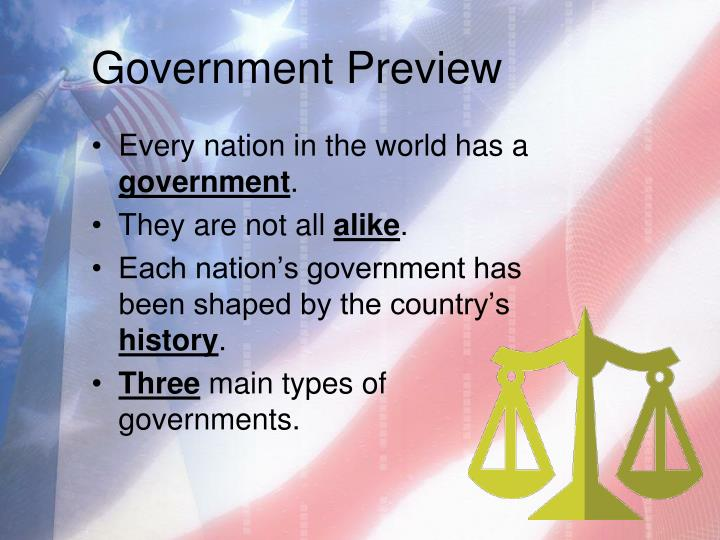 Government Preview