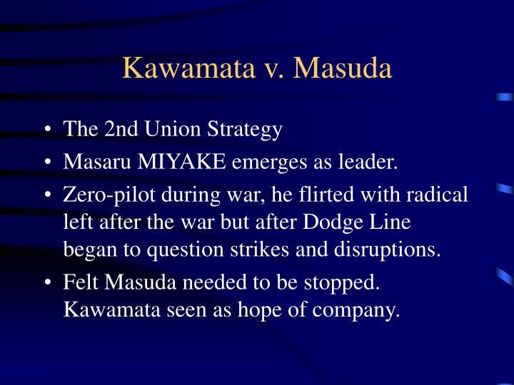 Kawamata v. Masuda
