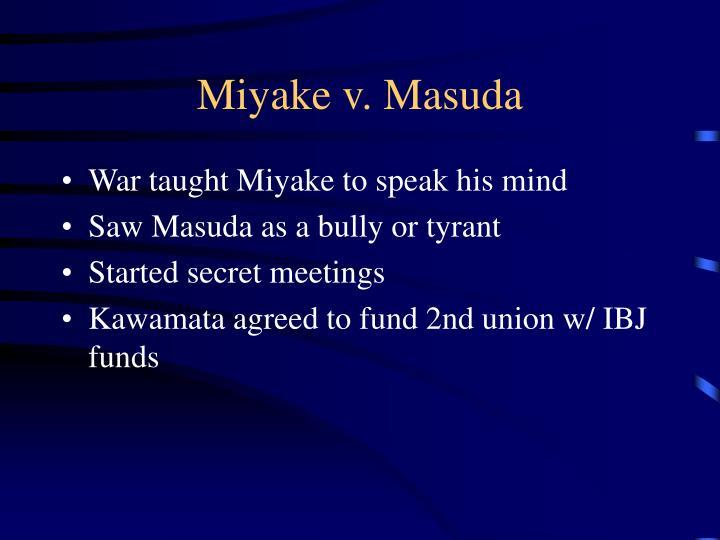 Miyake v. Masuda