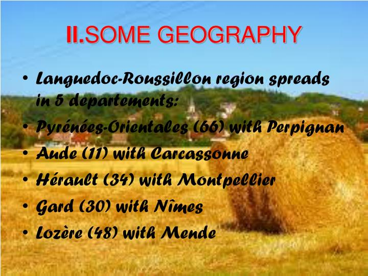 Ii some geography