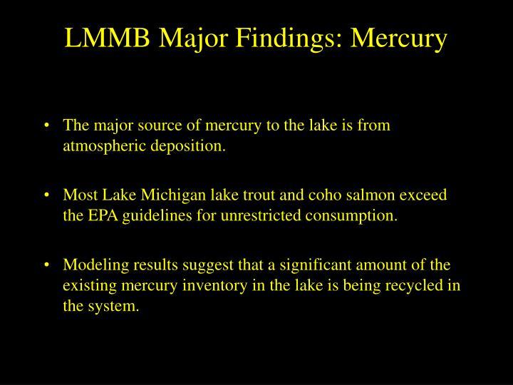 LMMB Major Findings: Mercury