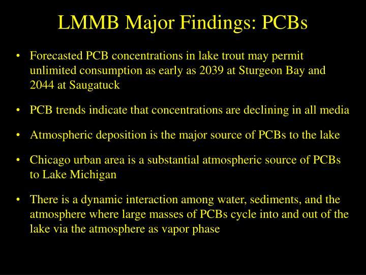 LMMB Major Findings: PCBs