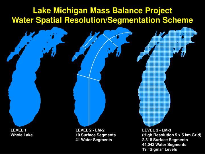 Lake Michigan Mass Balance Project