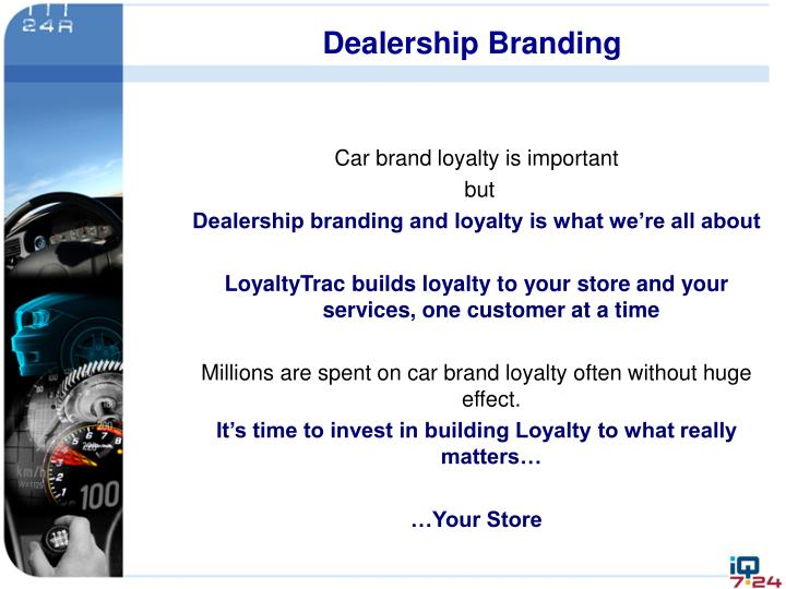 Dealership Branding