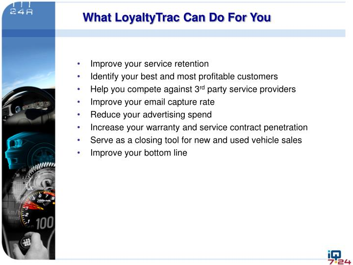 What LoyaltyTrac Can Do For You