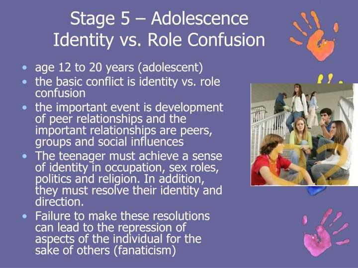 identity vs identity confusion Identity development throughout the lifetime:  (identity versus role confusion)  identity development throughout the lifetime: an examination of e.