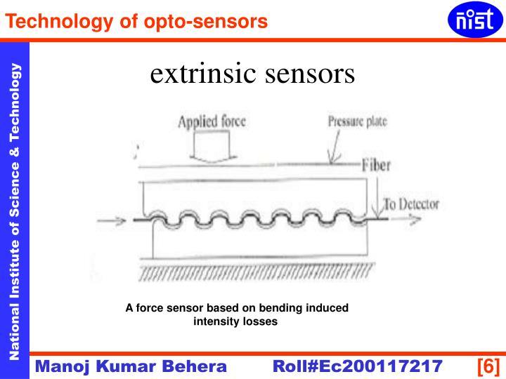 extrinsic sensors