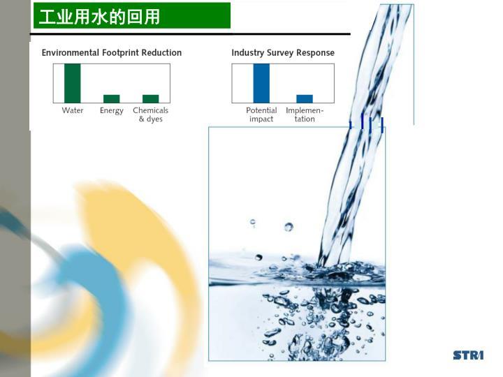 工业用水的回用