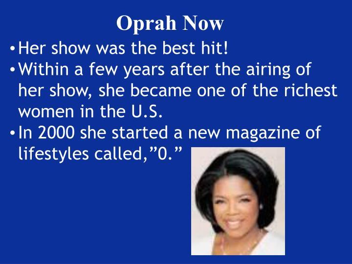 Oprah Now