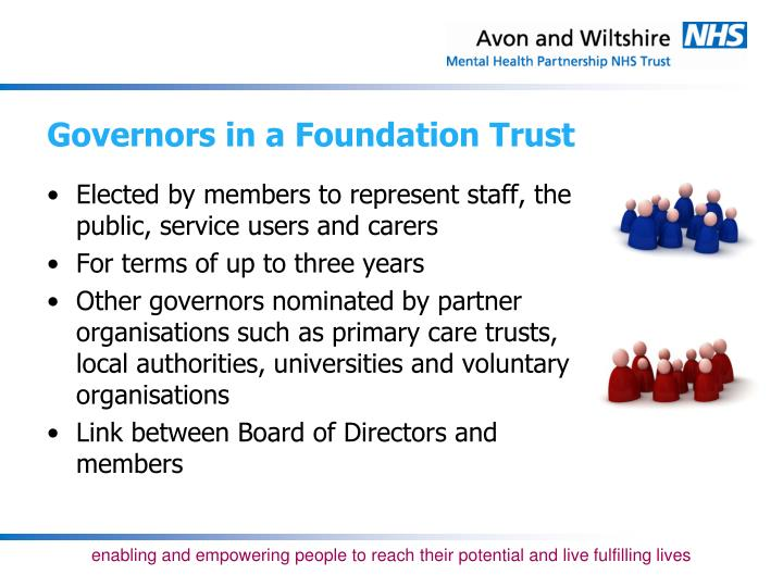Governors in a Foundation Trust