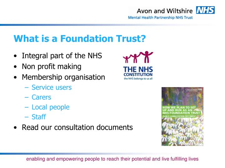 What is a Foundation Trust?