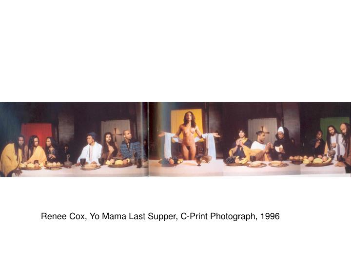 Renee Cox, Yo Mama Last Supper, C-Print Photograph, 1996
