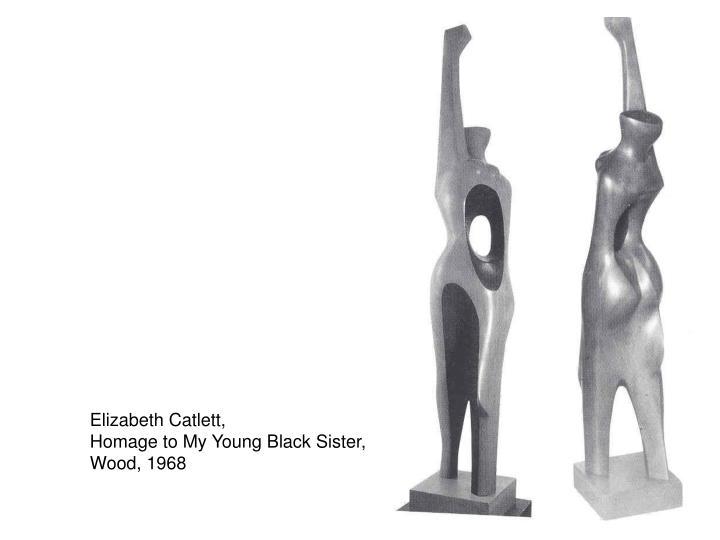 Elizabeth Catlett,