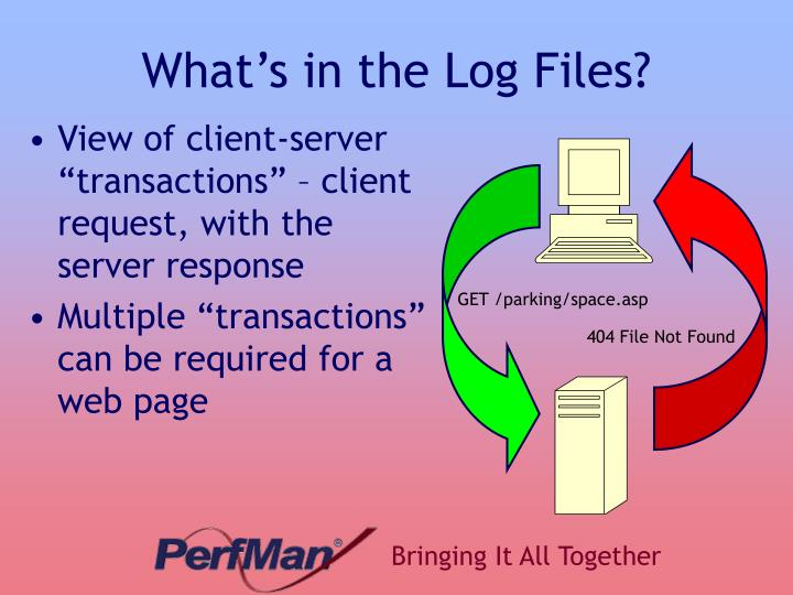 What's in the Log Files?