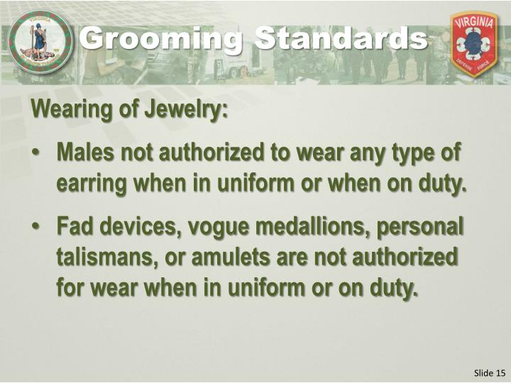 Grooming Standards