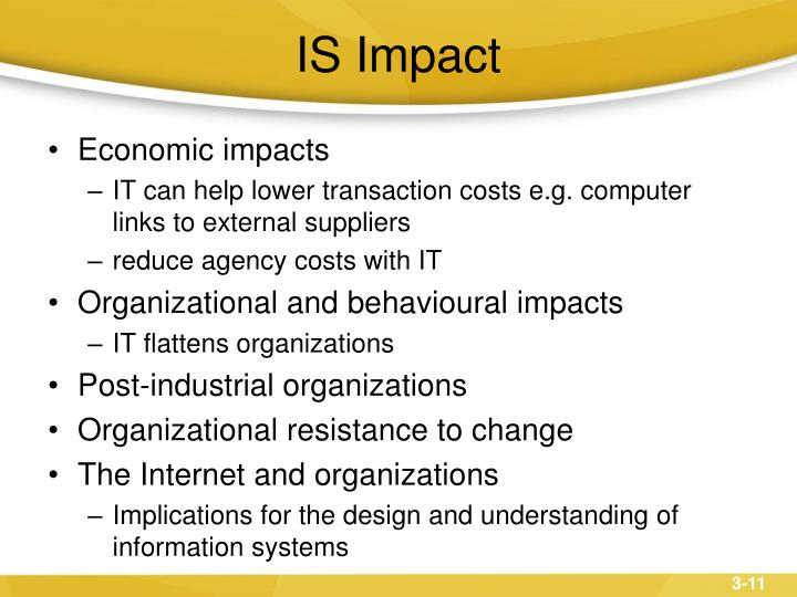 IS Impact