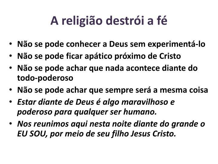 A religio destri a f