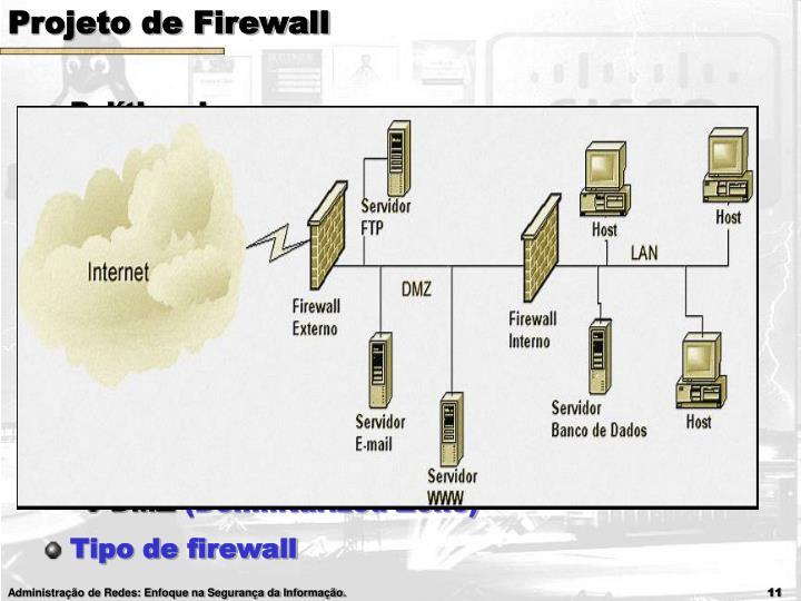 Projeto de Firewall
