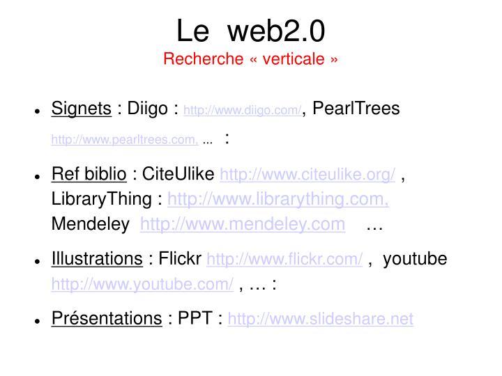 Le  web2.0