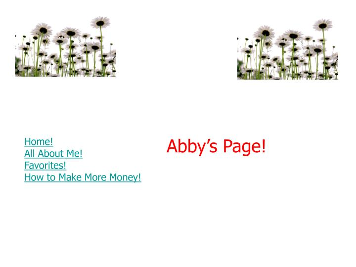 Abby s page