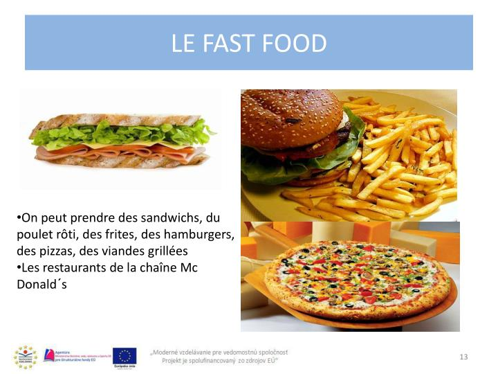 Le fast food