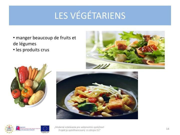Les végétariens