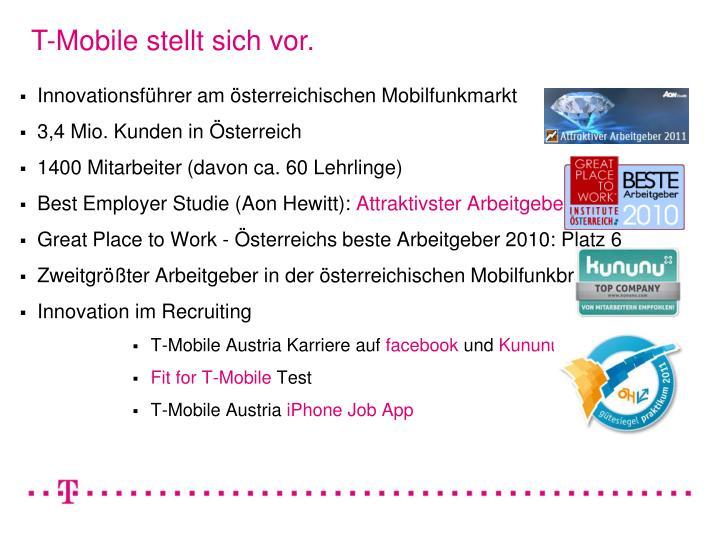 T-Mobile stellt sich vor.