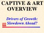 captive art overview drivers of growth slowdown ahead