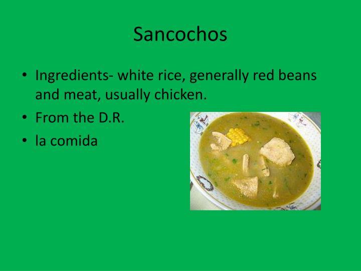 Sancochos