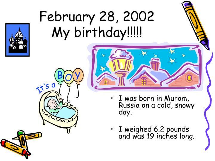 February 28, 2002