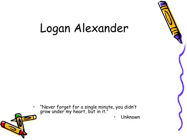Logan Alexander