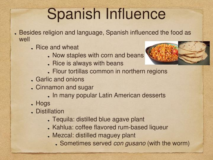 Spanish Influence
